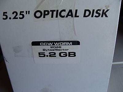 NEW Generic 5.2GB 2048 b/s CCW WORM MO WriteOnce Optical Disc - Micro Technologies (yourdrives.com)
