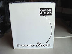 "*NEW* Pinnacle Micro 4.2GB Rewritable MO Disk DOT OMDR 5.25"" 512b/s* Pack of 5* - Micro Technologies (yourdrives.com)"