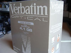 "*New* Verbatim 4.1GB 5.25"" MO CCW WORM 512 Bytes/Sector 92845 - Micro Technologies (yourdrives.com)"