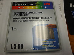 Imation 44019 1.3GB RW (EDM-1300C) *NEW* Factory Sealed 5 Pack Box - Micro Technologies (yourdrives.com)