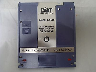 Pinnacle Micro 2.3 GB OMDR 5.25'' Optical Media Disk 512 bytes/sector - Micro Technologies (yourdrives.com)