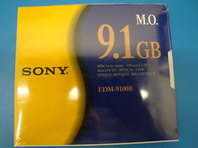 Sony MO Media EDM-9100B 9.1GB RW  Optical Disk - Micro Technologies (yourdrives.com)