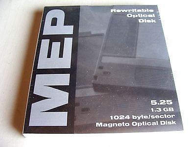*NEW*MEP 1.3GB 5.25'' Rewritable 1024b/s Optical Drive *NEW* Sealed in packages