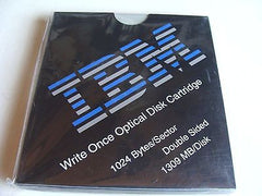 NEW IBM 1.3GB (1309 MB) Worm Double Sided MO Optical Disk Write Once 1024 b/s - Micro Technologies (yourdrives.com)