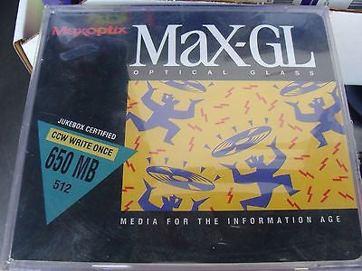 Maxoptix MAX-GL Optical Glass 650 MB/ 512 CCW write once Jukebox Certified - Micro Technologies (yourdrives.com)