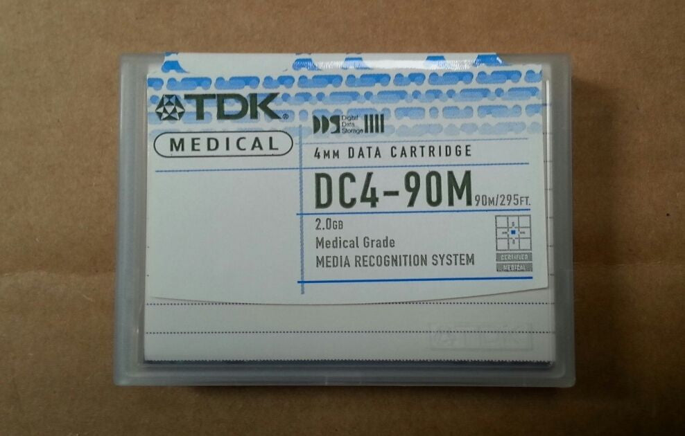 TDK DC4-90m 90 Meter DDS 4mm Tape Cartridge - New - Micro Technologies (yourdrives.com)