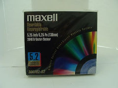 *NEW* Lot of 5 Maxell MA192-S2 5.2GB RW Optical Disk Media  - same as EDM-52000C - Micro Technologies (yourdrives.com)