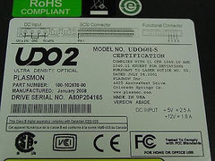 Plasmon UDO60 Internal SCSI 60GB UDO2 Drive 100-102638-00 UDO60I-S - Micro Technologies (yourdrives.com)