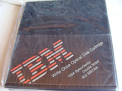 NEW Pack of 5 IBM 652 MB1024 b/s WORM MO Optical Disk 65F6951 Write Once - Micro Technologies (yourdrives.com)