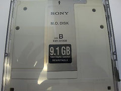 Sony MO Media EM1-9100B 9.1GB RW  1024 B/s Optical Disk - In Clamshell - Micro Technologies (yourdrives.com)