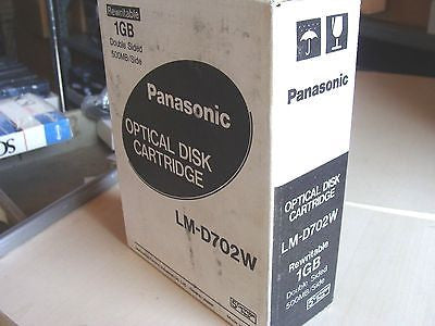 *NEW* Panasonic LM-D702W *5 Pack* 1GB Double-sided Rewritable Optical Disk