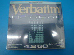 Verbatim 92842 MO Media 4.8GB RW Qty 1 *NEW*   1024 b/s   EDM-4800C EDM-4800C - Micro Technologies (yourdrives.com)