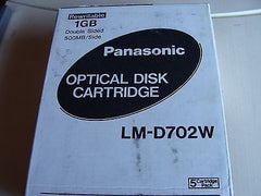 *NEW* Panasonic LM-D702W *5 Pack* 1GB Double-sided Rewritable Optical Disk - Micro Technologies (yourdrives.com)