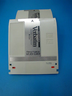 Verbatim 91204 Used 1 Piece Media Rewritable 2.6 GB   -  EDM-2600C - Micro Technologies (yourdrives.com)