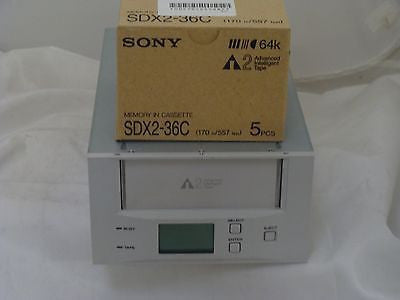 Sony TSL-A500C AIT-2 Autoloader Internal SCSI LVD with Box of 5  SDX2-36C Tapes - Micro Technologies (yourdrives.com)