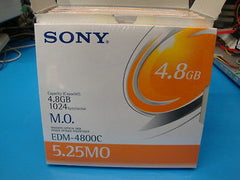Sony MO Media EDM-4800C 5 Pack  4.8GB RW *NEW* EDM-4800B - Micro Technologies (yourdrives.com)