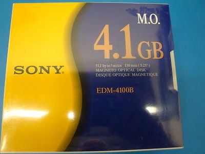 Sony MO Media EDM-4100B  4.1GB RW *NEW* Optical Disk 512 b/s 1 Piece - Micro Technologies (yourdrives.com)