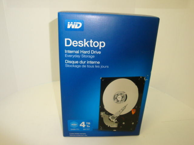 "NEW 2 Year Western Digital BLUE 4TB Internal 5400RPM 3.5"" WDBH2D0040HNC HDD - Micro Technologies (yourdrives.com)"