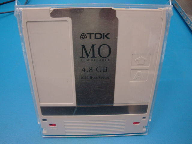 Qty 10 Pieces USED TDK MO-R4800 4.8Gb RW in Clamshell  EDM-4800B EDM-4800C - Micro Technologies (yourdrives.com)