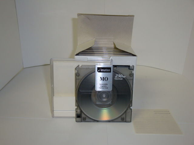 Imation 230mb Rewritable Optical Disk Reformatted for PC - 5 pieces - Micro Technologies (yourdrives.com)