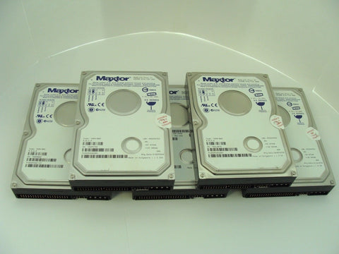 *Lot of 5* Maxtor 7Y250P0 Maxline Plus II 250GB ATA/133 HDD 8mb Cache 7200RPM
