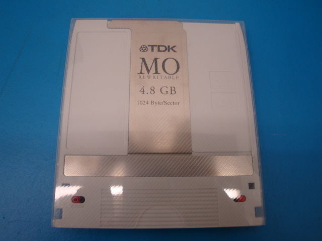 Qty 10 Pieces USED TDK MO-R4800 4.8Gb Rewritable Media  EDM-4800B EDM-4800C - Micro Technologies (yourdrives.com)