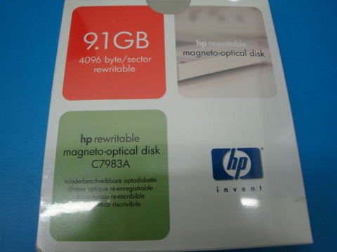 HP  C7983A 9.1GB Re-writable MO Disk EDM-9100B EDM-9100C