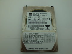 "Toshiba MK8025GAS Internal 80GB 4200 RPM, 2.5"" HDD Compaq 312954-001 - Micro Technologies (yourdrives.com)"
