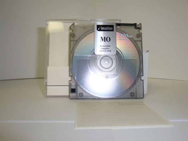 Imation 230mb Rewritable Optical Disk MAC Formatted - 1 piece - Micro Technologies (yourdrives.com)