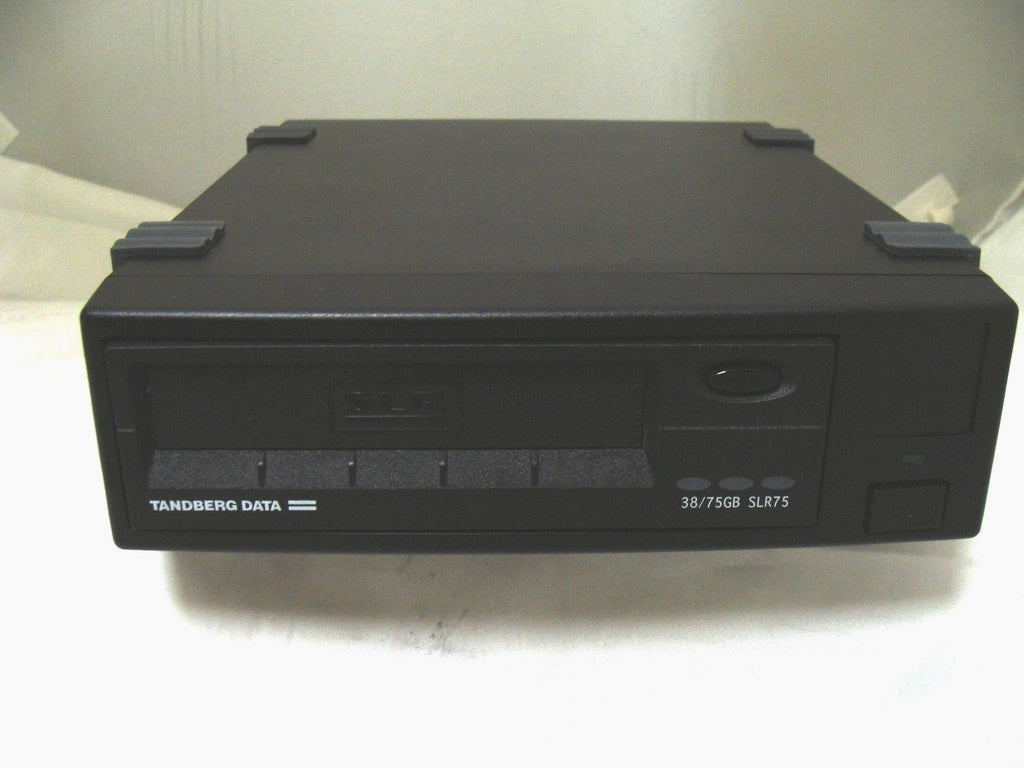 Tandberg SLR75 Data External Tape Drive 38/75GB SCSI III - Micro Technologies (yourdrives.com)