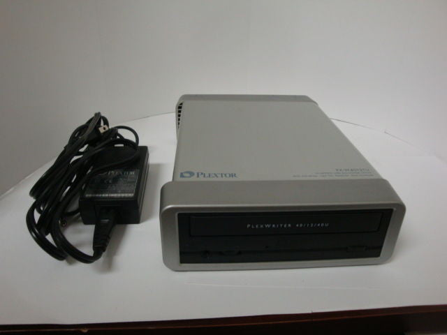 External Plextor PX-W4012TU 40/12/40 CD-RW Drive USB 2.0 Power Block Included - Micro Technologies (yourdrives.com)