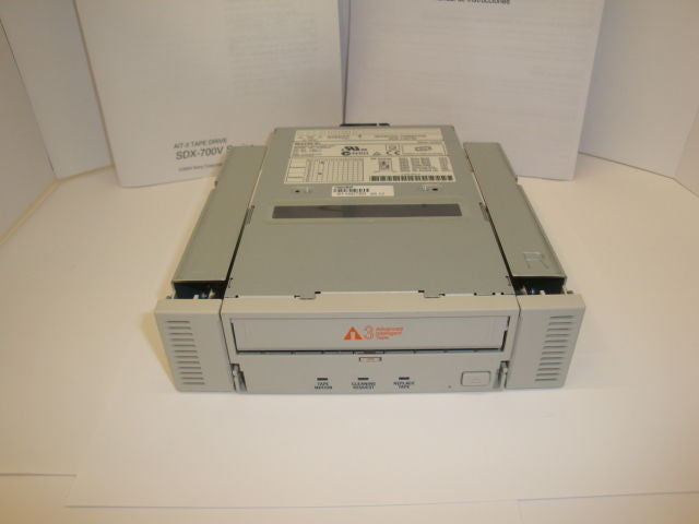 "SONY SDX-700V ATDNA3 100Gb/260Gb Tape Drive 3.5"" and 5.25"" Beige Bezel - Micro Technologies (yourdrives.com)"