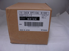 Verbatim 94124 9.1GB WORM Disk 1 Box of 10 pieces  CWO-9100C C7984A - Micro Technologies (yourdrives.com)