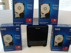Drobo FS 5 Bay NAS 15 TB, W/  Qty 5 NEW WD30EFRX IntelliPower 3TB RED NAS Drives - Micro Technologies (yourdrives.com)