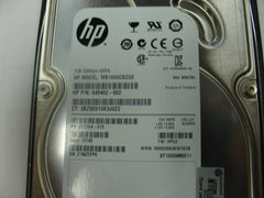 HP 649402-002 1TB 3.0GB SATA Hard Drive with Tray for MDL MB1000CBZQE - Micro Technologies (yourdrives.com)