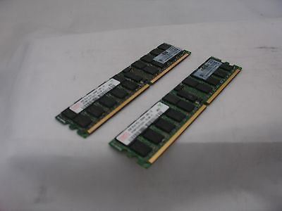 HP 4GB (2x2GB) DDR2-667 PC2-5300P ECC Registered  ProLiant DL180 G5 240-PIN