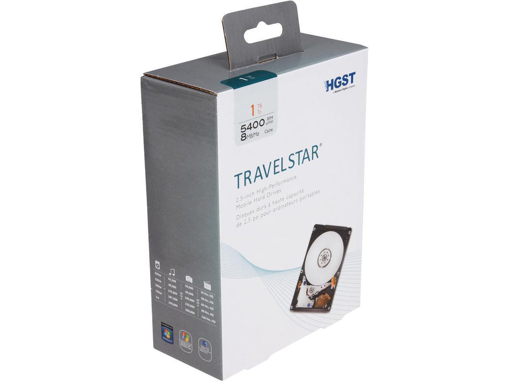 "New Hitachi 0S03508 2.5"" 1TB Travelstar Mobile Hard Drive 5400RPM - Micro Technologies (yourdrives.com)"