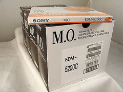 Sony MO Media EDM-5200C 5.2GB RW *NEW* Optical Disk 4 Five Pack Boxes - Micro Technologies (yourdrives.com)
