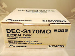 Pioneer DEC17GMO Media Box of 5 DEC-S170MO Siemens Optical Disk - Micro Technologies (yourdrives.com)