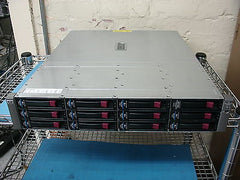 HP StorageWorks MSA60  SAS/SATA 418408-B21  Comes with (12) 1Tb Drives & Ears - Micro Technologies (yourdrives.com)