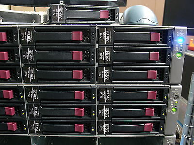 HP DL320S 10TB Server  Xeon 3070 2.66Ghz 6Gb RAM P800 SAS 12 X 750GB Hard Drives