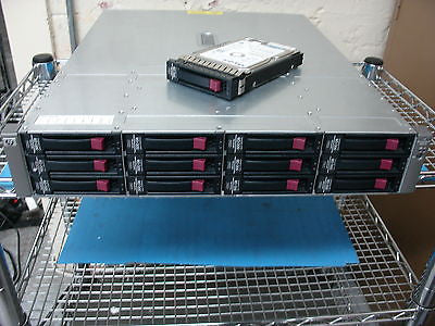 HP StorageWorks MSA60  SAS/SATA 418408-B21  Comes with 12 500gb Drives & Ears - Micro Technologies (yourdrives.com)