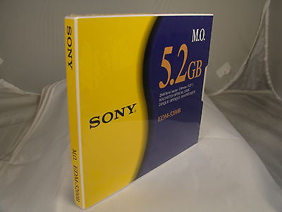 Sony MO Media EDM-5200B 5.2GB RW *NEW* Optical Disk - Micro Technologies (yourdrives.com)