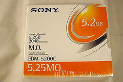 Sony MO Media EDM-5200C 5.2GB RW *NEW* Optical Disk - Micro Technologies (yourdrives.com)
