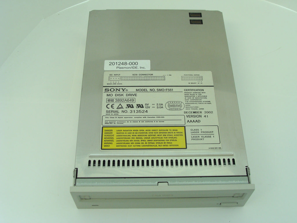 Unused Plasmon 201248-000 Internal 9.1GB Magneto Optical Drive - Micro Technologies (yourdrives.com)