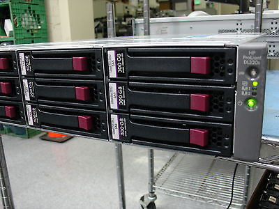 HP DL320 Rack Server  Xeon 3070 2.66Ghz 6Gb RAM P800 SAS 14 X 300GB SAS Hrd Drv