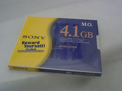 Sony 4.1 GB EDM-4100B Magneto Optical Disc - New