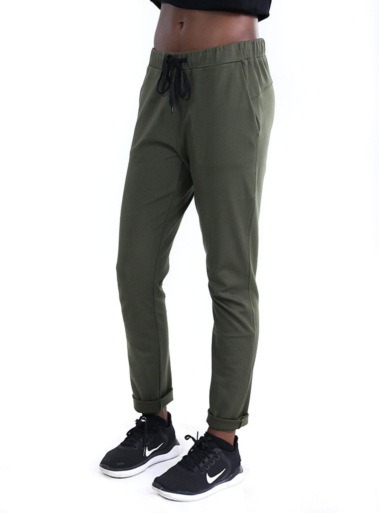 Flight Trouser | Army Green