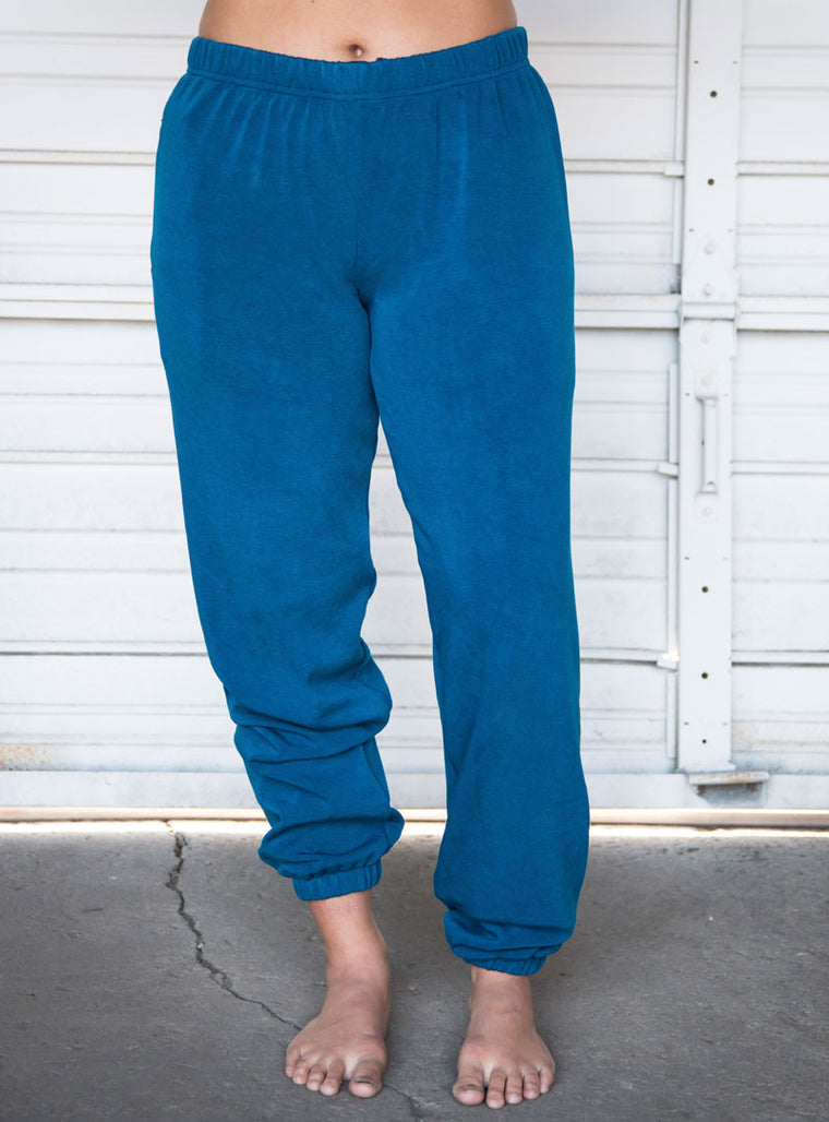 Lagoon Fleece Sweatpants with Zipper Pocket