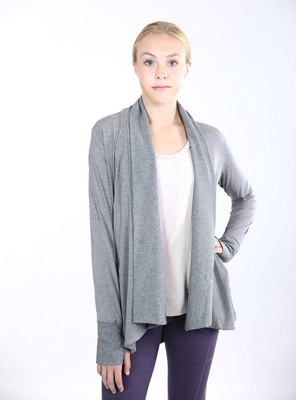 Studio Wrap | Heather Grey